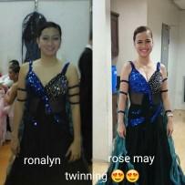Ronalyn Navales and Rose May Dela Cruz